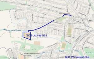 Anfahrtsplan TCBW