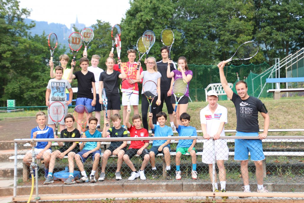 Tenniscamp Fabian 2016