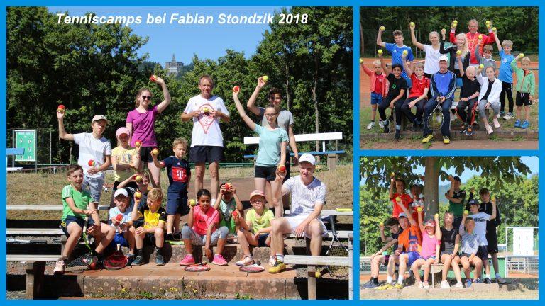 Tenniscamp bei Fabian Stondzik