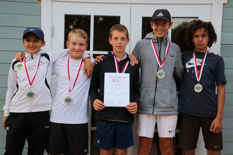 Großartige Spiele bei den Hessischen Meisterschaften U14 im TCBW