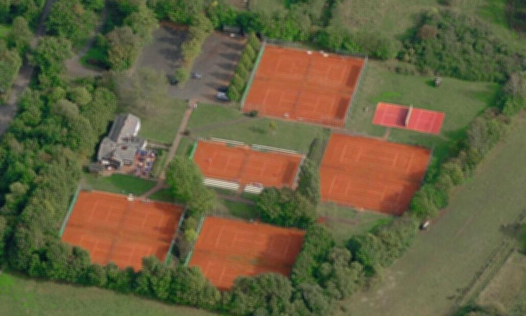 Luftbild TCBW 80er Jahre
