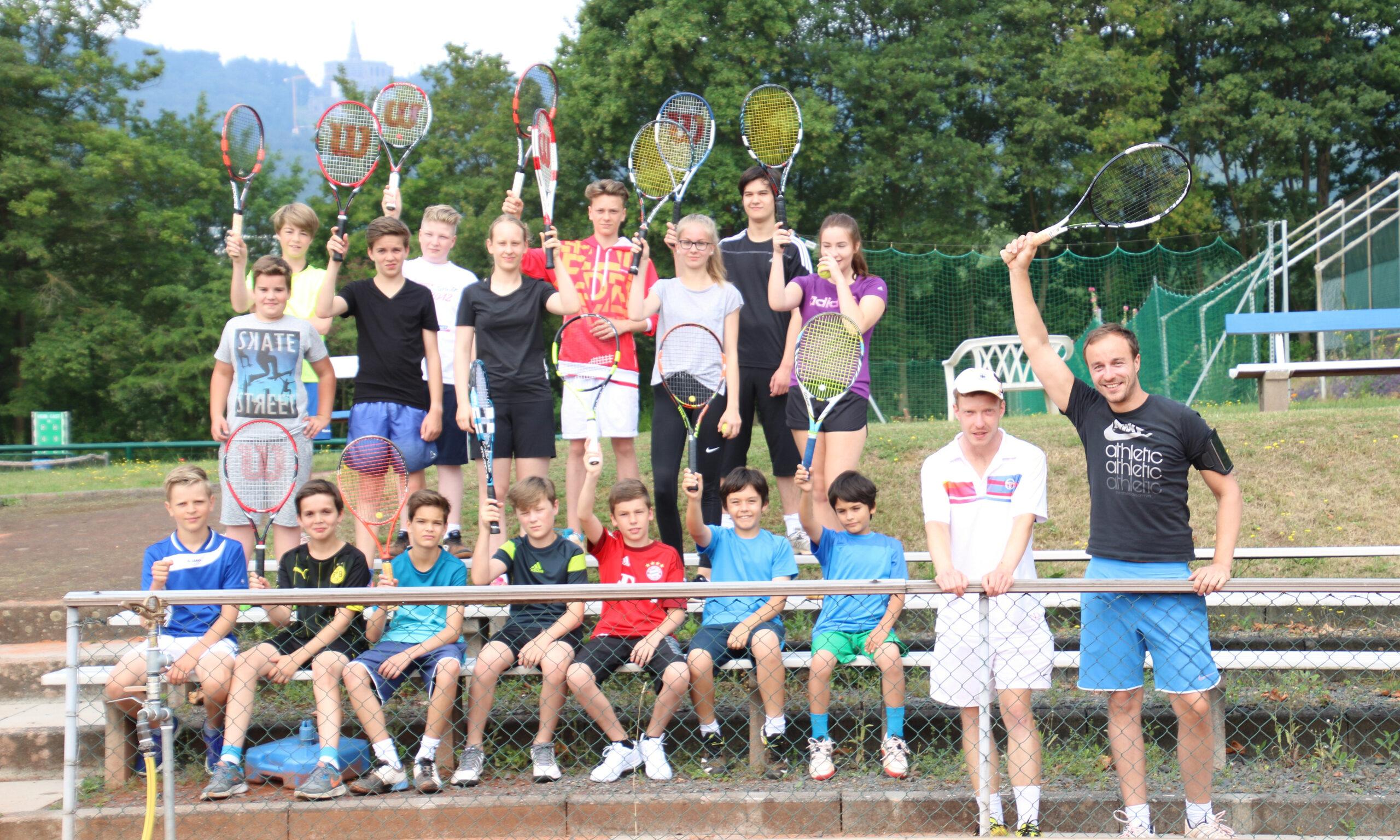 Tenniscamp blau weiss kassel