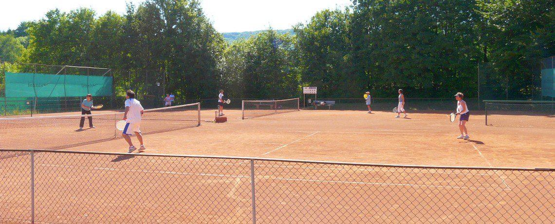 Tennisverein Kassel Sandplatz Spieler